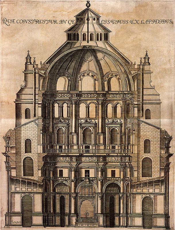 capilla mayor grabado de francisco heylan hacia
