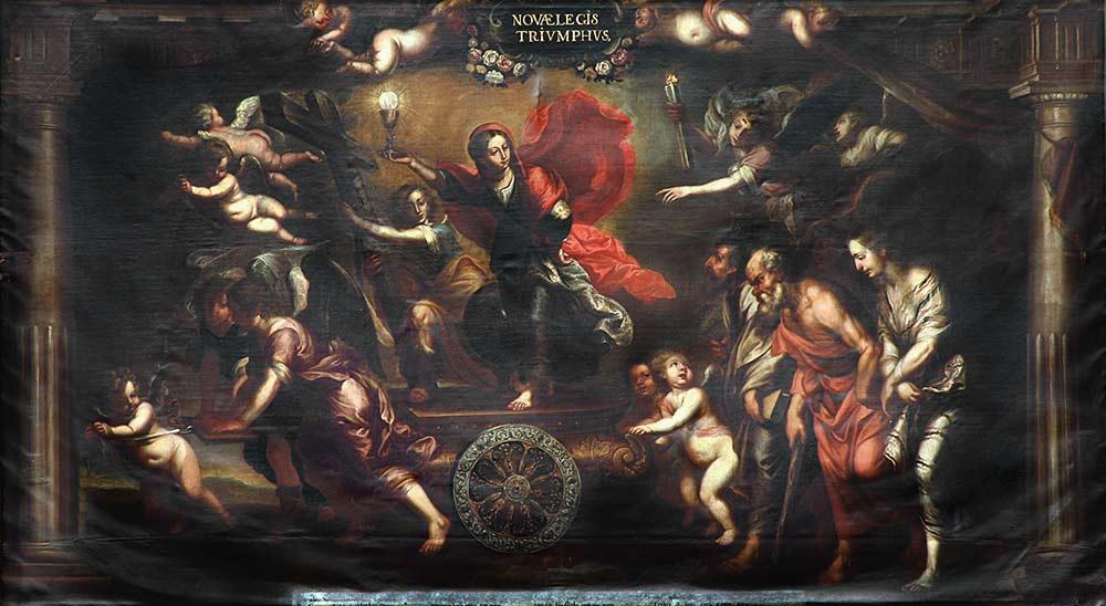 Pintura al óleo de José Risueño (1665-1732)