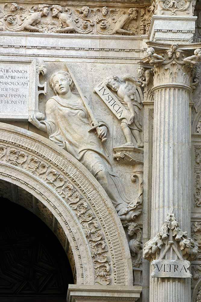 Virtud cardinal de la justicia