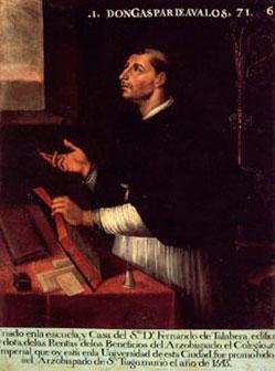 DON GASPAR DE ÁVALOS 5.º arzobispo de Granada, 1528-1542