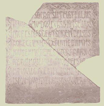INSCRIPCIÓN FUNERARIA DE CIPRIANO (siglo XI)