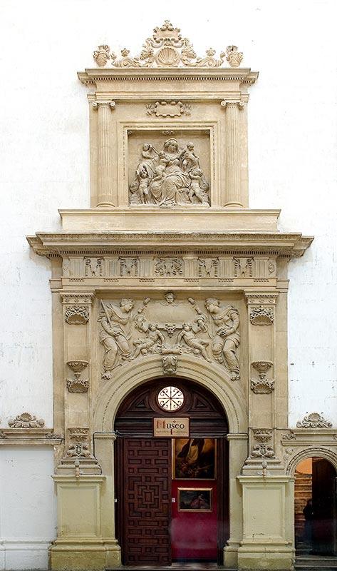 PORTADA DEL MUSEO CATEDRALICIO: CONJUNTO