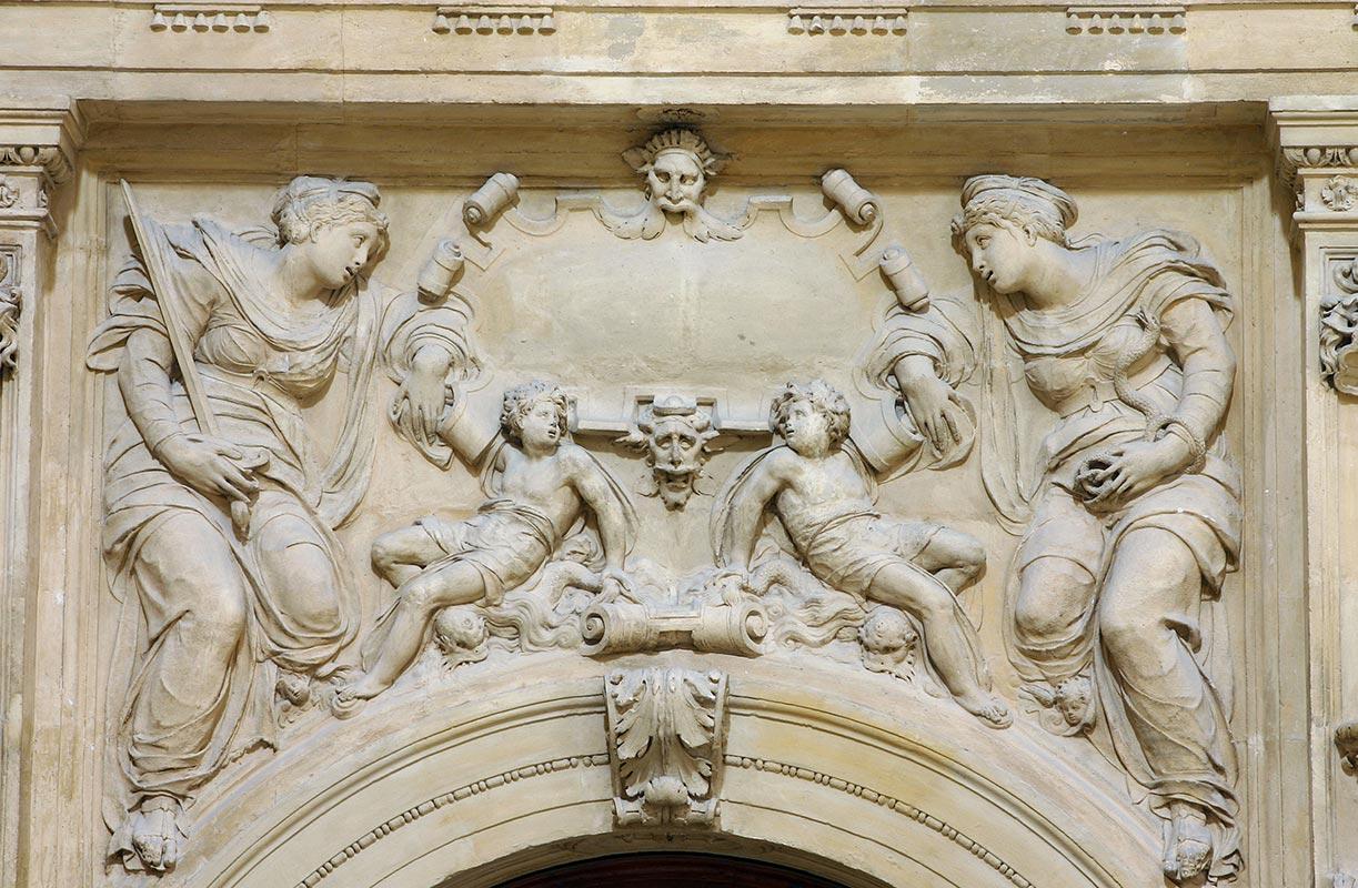 PORTADA DEL MUSEO CATEDRALICIO: LA JUSTICIA Y LA FE