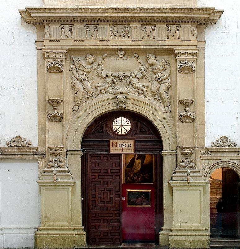 PORTADA DEL MUSEO CATEDRALICIO Primer cuerpo