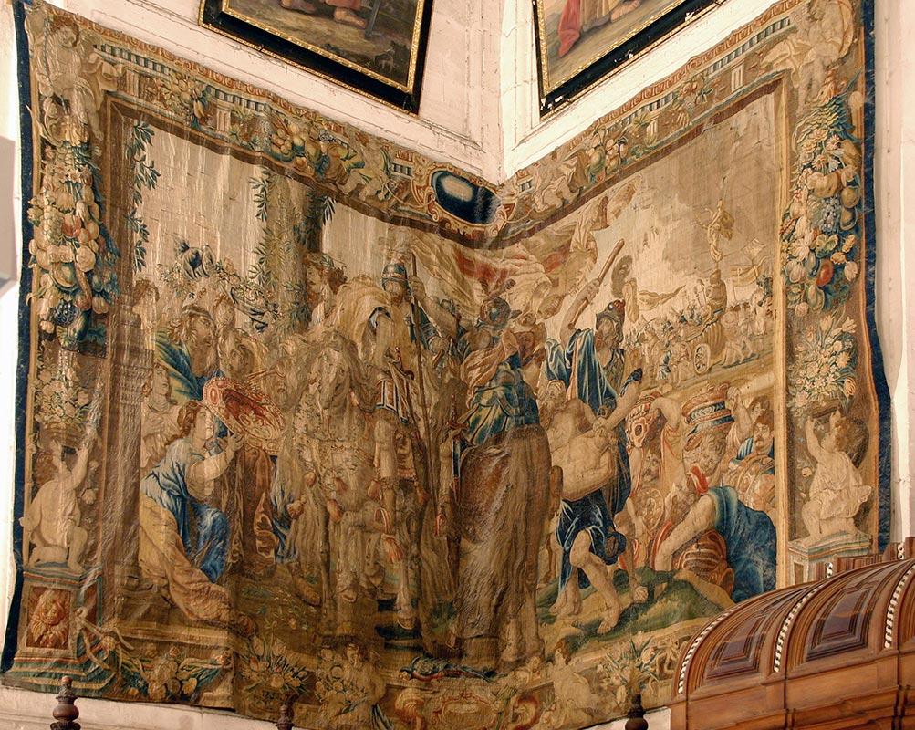 VIDA DE CONSTANTINO Su entrada triunfal en Roma