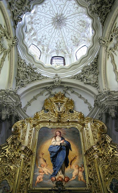 ORATORIO DE LAS RELIQUIAS Inmaculada de Alonso Cano