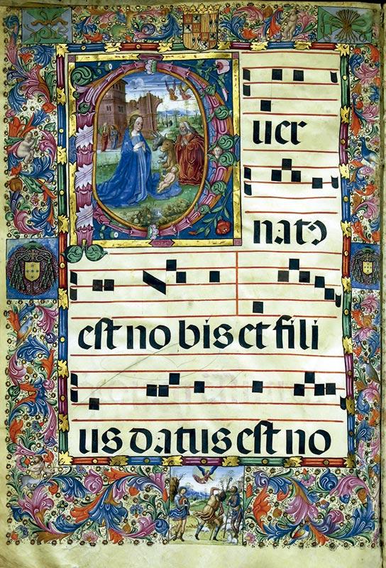 NATIVIDAD DE JESÚS (Coral 23(15)) Maestro del Nacimiento (primera mitad del XVI)