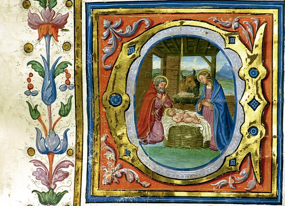 CANTORAL 4(17): NACIMIENTO DE JESÚS, CAPITULAR C Juan Ramírez (primera mitad del XVI)