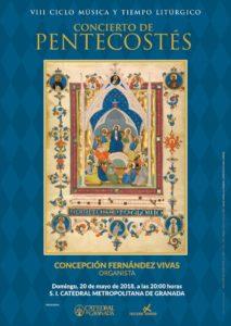 Cartel-concierto-pentecostes-catedral-Granada