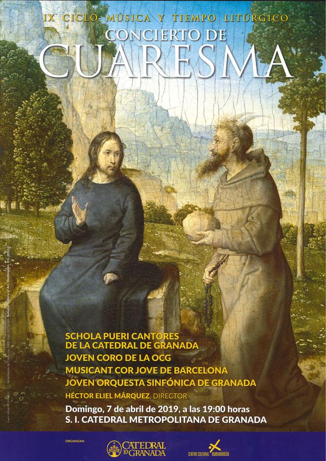 Concierto de Cuaresma. Domingo 7 de abril